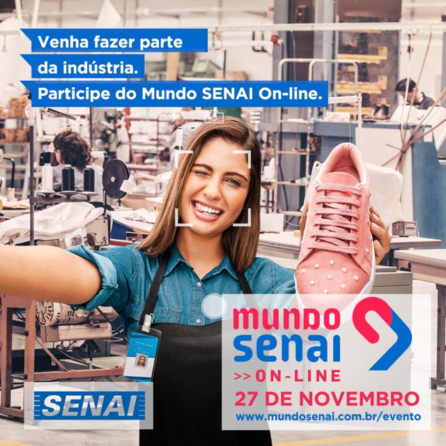 SENAI CETIQT participa da 12ª edição do Mundo SENAI