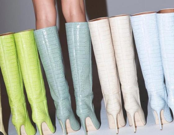 Trend Alert: Botas coloridas irão dominar as coleções outono-inverno