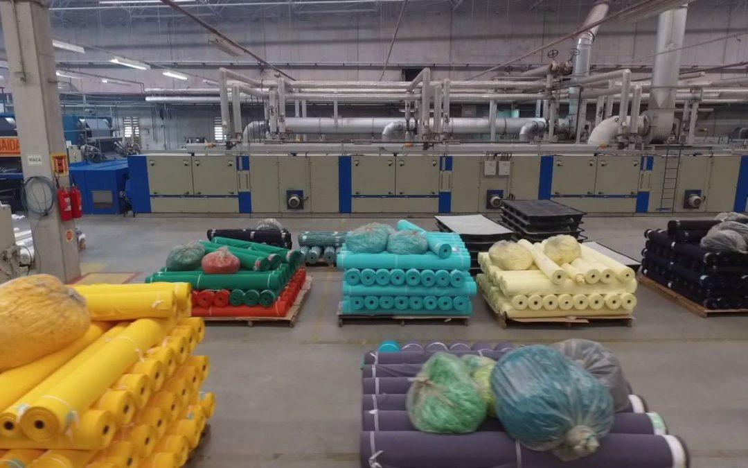 Huvispan Têxtil investe em maquinários para aumentar produção mesmo em meio à pandemia