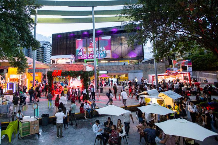 Colombiatex+Colombiamoda 2021 para abrir a agenda de eventos empresariais como parte do plano de reativação económica de Medellín